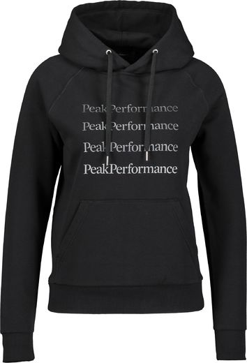 Peak Performance Ground hood miesten huppari musta
